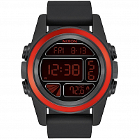 Nixon Unit BLACK/RED/BLACK