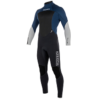 Mystic STAR FULLSUIT 5/4MM BZIP NAVY