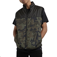 Element PUFF VEST TW BARK CAMO