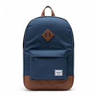Herschel Heritage Mid-Volume Navy/Tan Synthetic Leather