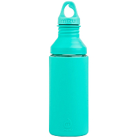 MIZU G7 Glass Bottle Mint w Loop Cap