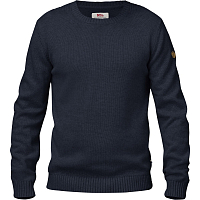 FJALLRAVEN OVIK KNIT CREW DARK NAVY