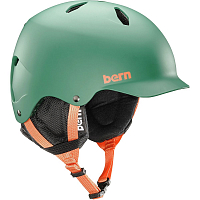 Bern BANDITO JR. UNISEX Matte Hunter Green/Black Liner