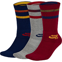 Nike SB 3PPK CREW SOCKS MULTI-COLOR