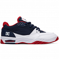 DC MASWELL M SHOE NAVY WHITE