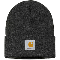 Carhartt WIP SCOTT WATCH HAT DARK GREY HEATHER - WAX