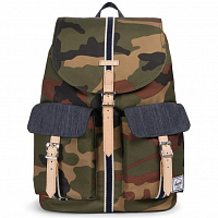 Herschel STUDIO DAWSON X-LARGE Woodland Camo/Dark Denim