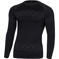 BODY DRY ROYAL SPORT LONG SLEEVE SHIRT BLACK