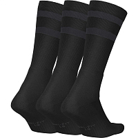 Nike SB 3PPK CREW SOCKS BLACK/ANTHRACITE