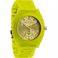 Nixon Time Teller Acetate NEON YELLOW/BEETLEPOINT