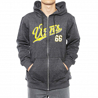 Vans 66 ZIP HOODIE BF BLACK HEATHER