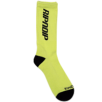 RIPNDIP FIELD SOCKS NEON