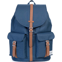 Herschel DAWSON Navy/Tan Synthetic Leather