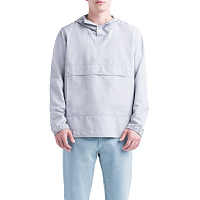 Herschel VOYAGE ANORAK Light Grey Crosshatch
