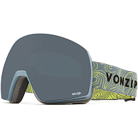 VonZipper SATELLITE GREY SATIN / WILD BLACKOUT
