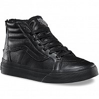 Vans SK8-HI ZIP (MTE) black/leather