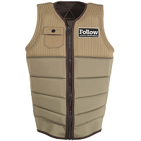 FOLLOW MITCH PRO IMPACT MENS VEST TAN