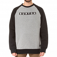 Burton MB VAULT CREW GRAY HEATHER