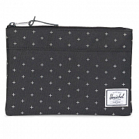 Herschel NETWORK LARGE (UPDATE) Black Gridlock