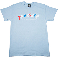 THRASHER KNOCK OFF S/S LIGHT BLUE