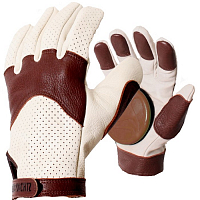 Landyachtz LEATHER BURLEY SLIDE GLOVES ASSORTED