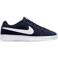 Nike COURT ROYALE SUEDE MIDNIGHT NAVY/WHITE