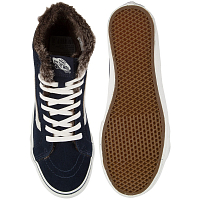 Vans SK8-HI SLIM (Fur Lining) total eclipse/marshmallow