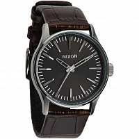 Nixon SENTRY 38 LEATHER BROWN GATOR