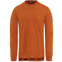 The North Face M L/S FINE 2 TEE CARAMEL CAFE (UBT)