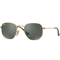 Ray Ban HEXAGONAL GOLD/GREEN