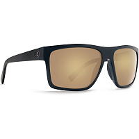 VonZipper DIPSTICK BLACK SATIN GLOSS DUO/GOLD GLO