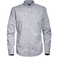 Makia ANCHORS SHIRT GREY