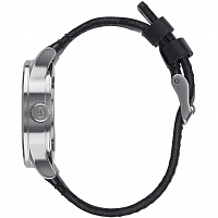 Nixon SENTRY 38 LEATHER BLACK