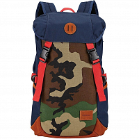 Nixon TRAIL BACKPACK NAVY/WOODLAND CAMO