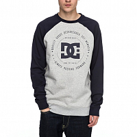 DC REBUILT 2 CREW M OTLR GREY HEATHER