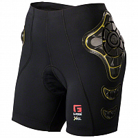 G-Form PRO-B SHORTS-WOMENS BLACK/YELLOW