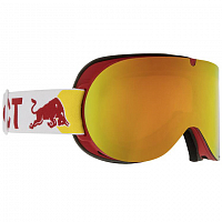 Spect RED BULL BONNIE RED/RED SNOW - ORANGE WITH RED MIRROR
