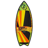 Ronix SUPER SONIC SPACE ODYSSEY - POWERTAIL Classic Fish - Orange/Yellow/Green