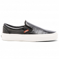 Vans Classic Slip-On (Croc Leather) Black
