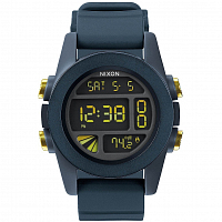 Nixon Unit STEEL BLUE/YELLOW ANO