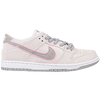 Nike SB ZOOM DUNK LOW PRO IW WHITE/PERFECT PINK-FLT SILVER