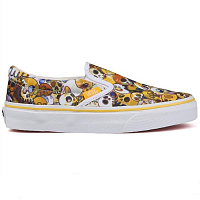 Vans CLASSIC SLIP-ON LX (Skull) yellow