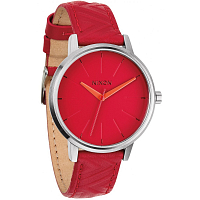 Nixon Kensington Leather RED/MOD