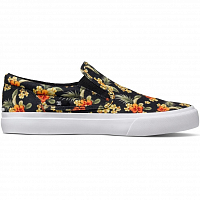 DC TRASE SLIP-ON S M SHOE BLACK GRAPHIC