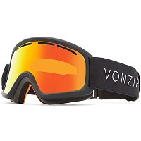 VonZipper TRIKE BLACK SATIN / FIRE CHROME