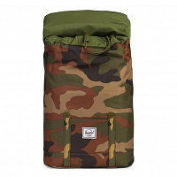 Herschel RETREAT YOUTH Woodland Camo1