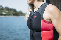 FOLLOW ATLANTIS PRO IMPACT LADIES VEST Salmon/Charcoal