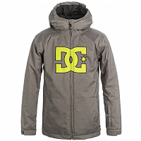 DC STORY Yth Jkt B SNJT B HEATHER PEWTER