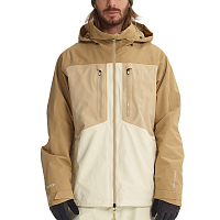 Burton M AK GORE SWASH JK CANVAS/SAFARI/KELP