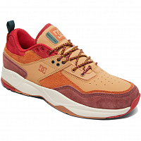 DC E.TRIBEKA SE M SHOE BURGUNDY/TAN